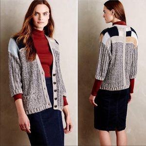 Anthropologie Rosa Wool blend cardigan. Large